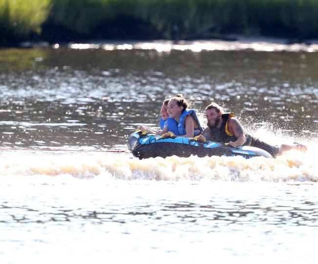 Tubing on the Elizabeth River