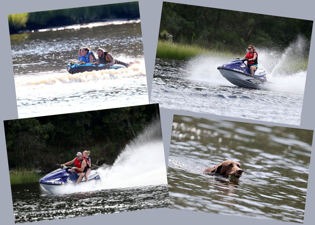 late summer fun on--and in--the Elizabeth River