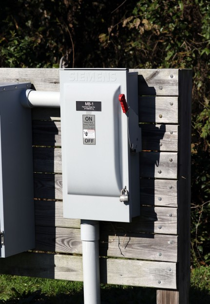 Outdoor safety switch